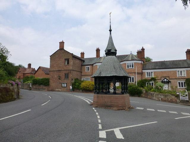 Eccleston village centre