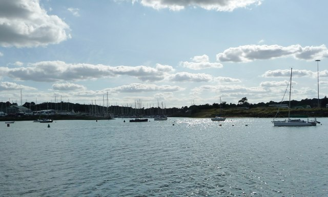 Ostrich Creek from the River Orwell