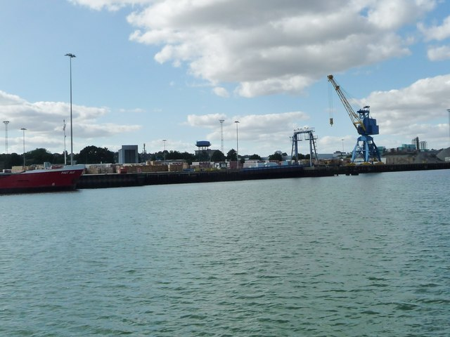 Container park, West Bank Terminal, Ipswich