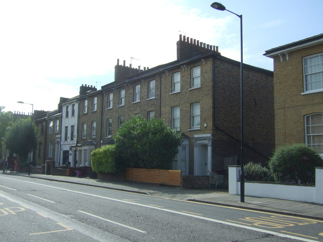 Houses on Graham Road, Dalston, London