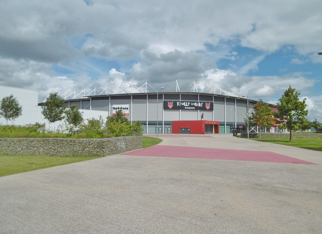 St Helens, stadium