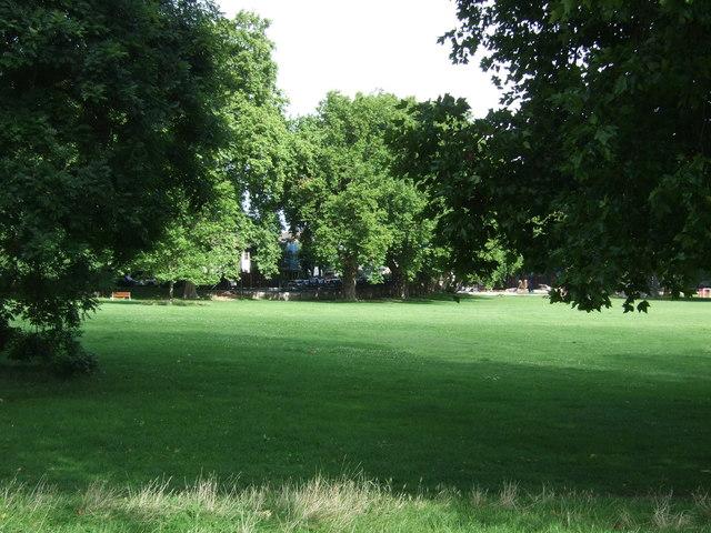 Recreation ground off Lea Bridge Road, London E5