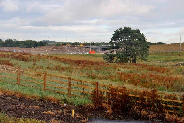 New Aberdeen bypass from Corsehill