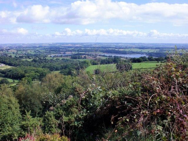 Ogston reservoir from High Ordish