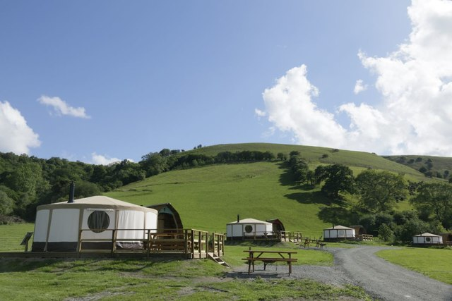 Glamping at Fforest Fields