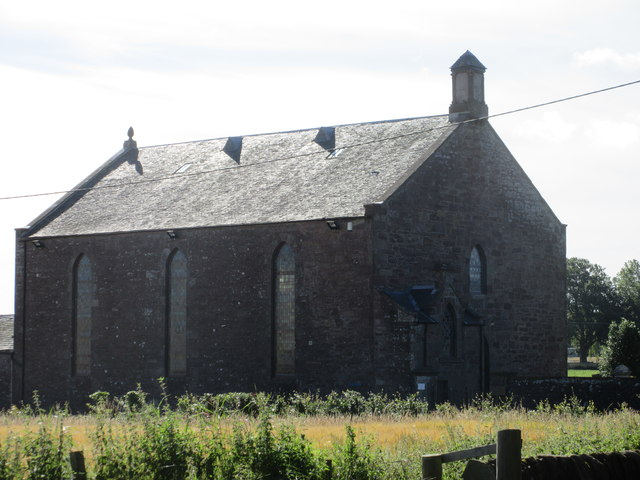 Monikie Church from the B961