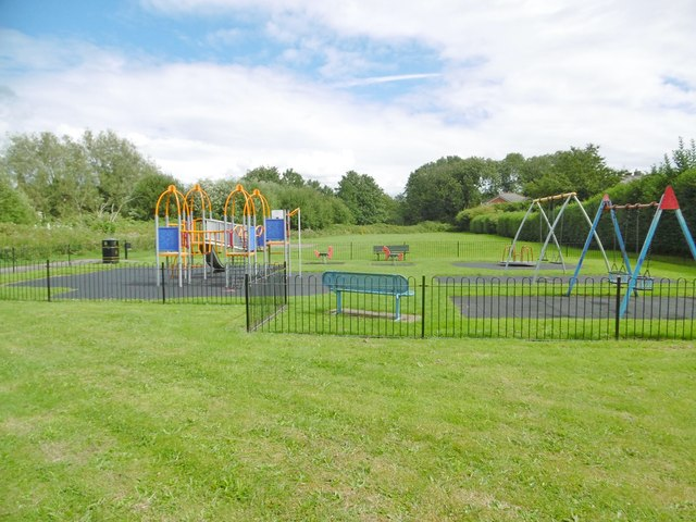 Rainford, play area