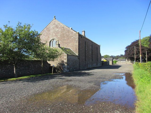 Monikie Church from the east