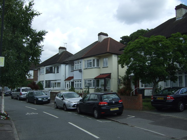 Houses on Foresters Drive, Walthamstow, East London, E17