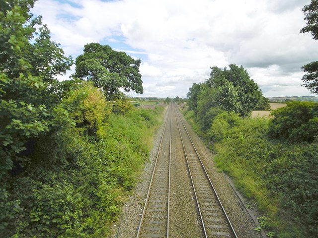 Rainford, railway lines
