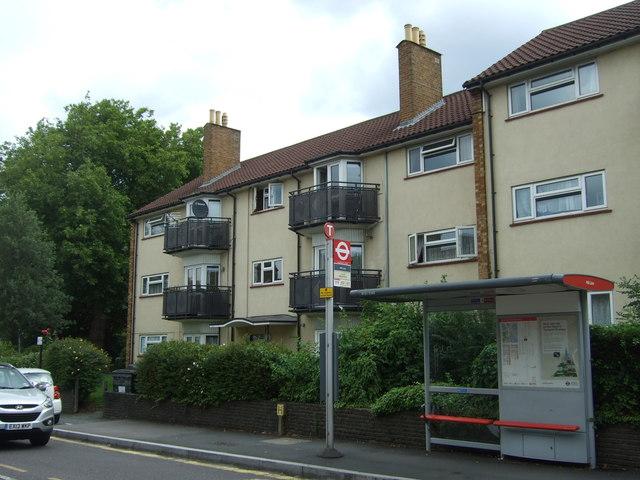 Flats on Chingford Lane (A1009)