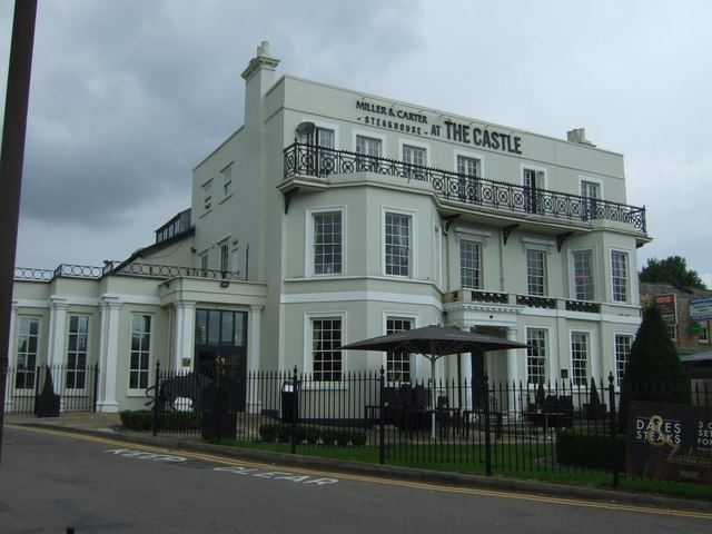 The Castle public house, Woodford