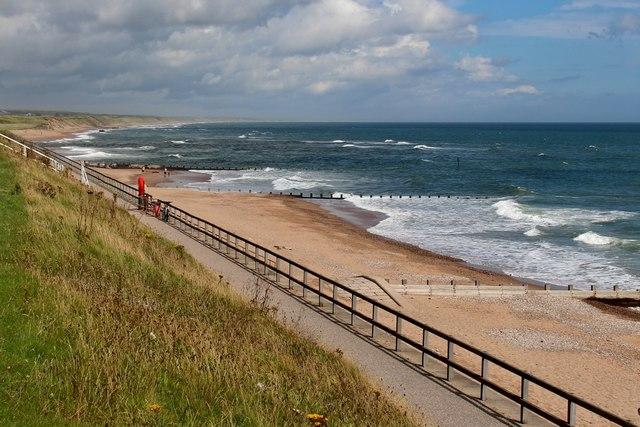 Aberdeen beach at King's Links
