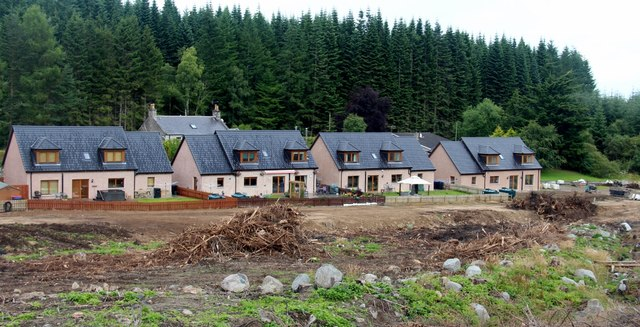 New housing at Tillyfourie