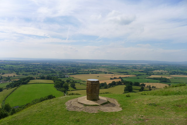Toposcope at Coaley Peak, Frocester Hill