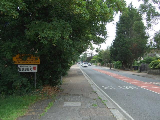 Entering Essex