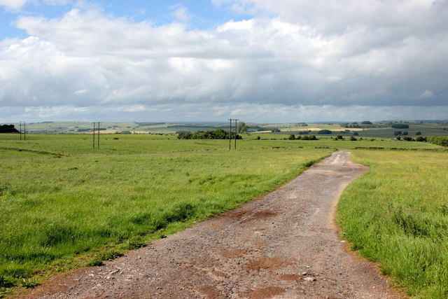 Track to Cales Farm