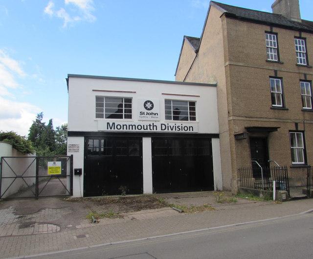 St John Ambulance Hall, Monmouth