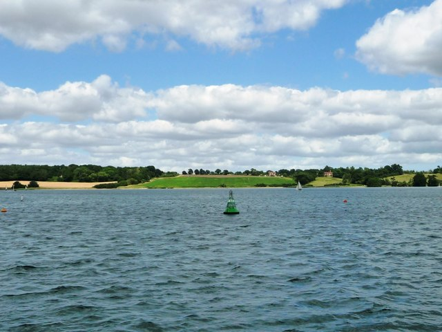 Cathouse green navigation buoy, River Orwell