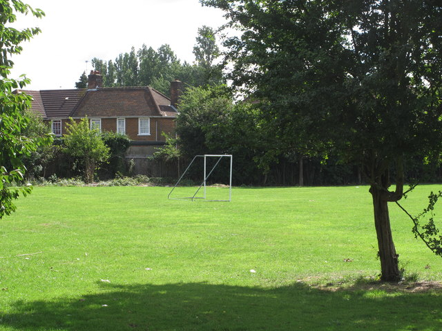 Playing field, West Acton Primary School