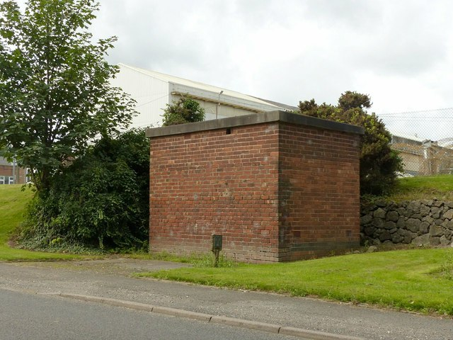 Brick building on Littlewell Lane