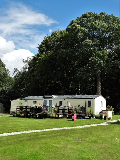 Static caravan in Nostell Priory Holiday Park