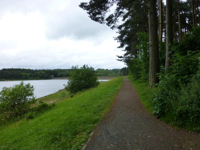 The Six Dale Trail near Fewston Embankment