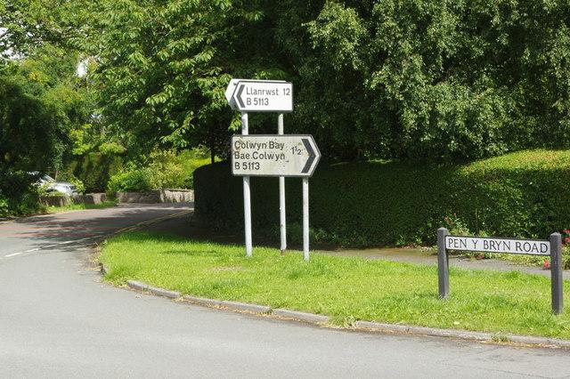 Llanrwst Road, Colwyn Heights