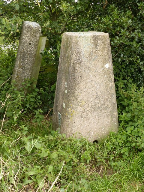 Trig point on No Mans Lane