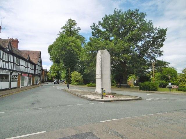 Chirk, war memorial