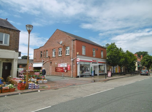 Chirk, post office & Spar