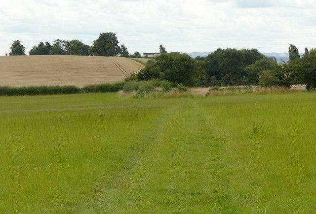 Farm track near Peatmeadow Farm