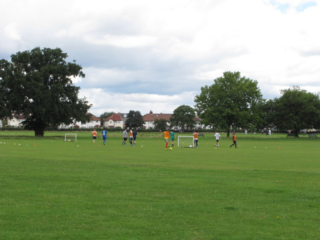5-a-side football, North Acton Playing Field