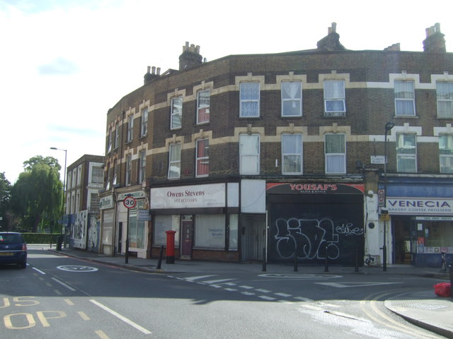 Shops on Downs Road, London E5