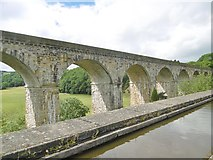 SJ2837 : Chirk Viaduct by Mike Faherty