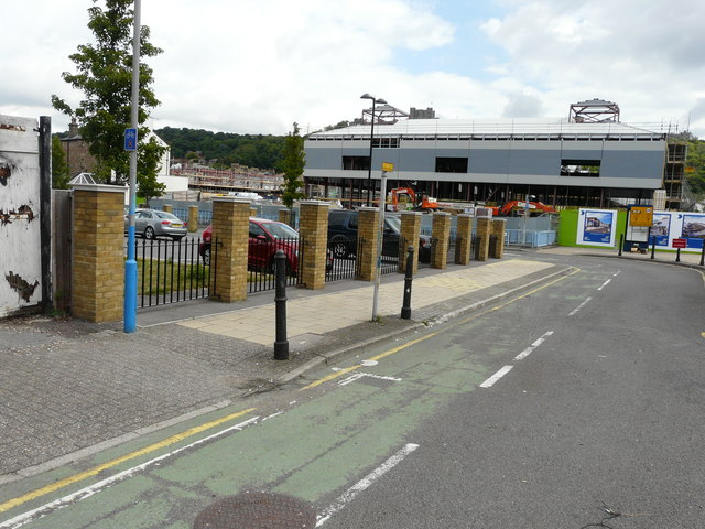 Ongoing development of St James' Shopping Centre