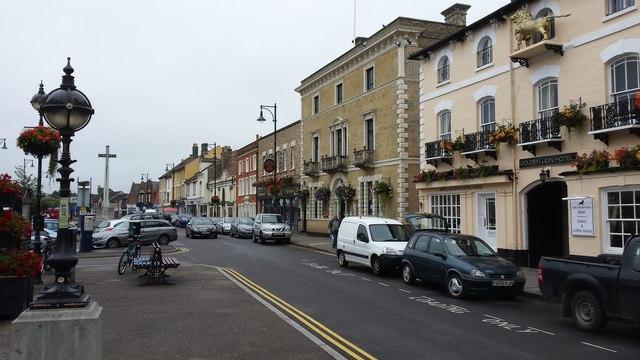 St Ives town centre shops