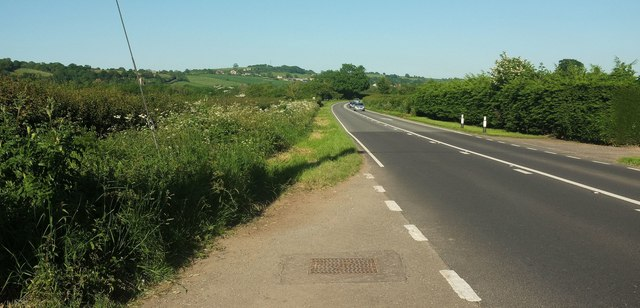 A30 near Barrows Hill