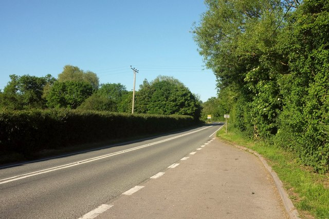A30 approaching East Chinnock