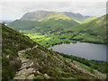 NY1715 : Made path down to Buttermere by Hugh Venables