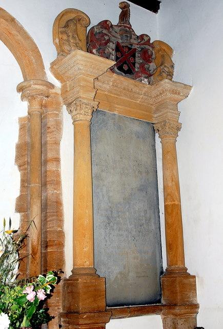 Thomas Napper monument, St Margaret's Church, Tintinhull