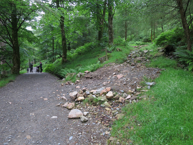 Permissive path by Buttermere