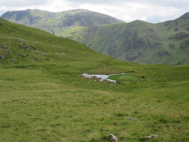 Pool on the col