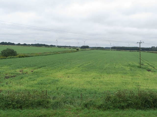 Arable land next to the River Hull