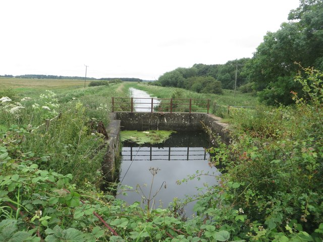 The western end of the Leven Canal