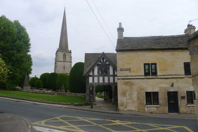 The Cotswold Way at the A46 (again!) in Painswick