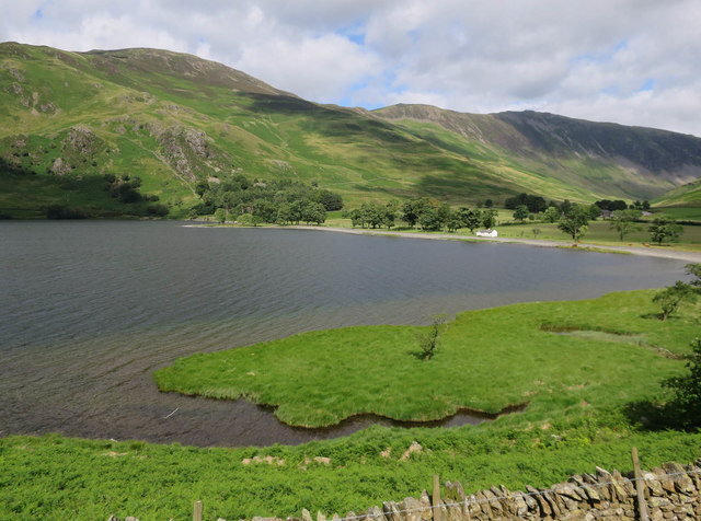 Southeast end of Buttermere