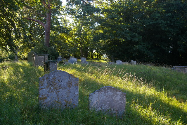 Churchyard of St Mary's Church, Little Blakenham