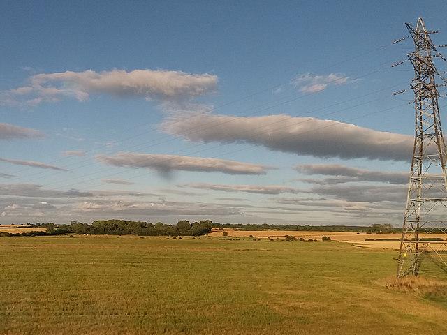 Pylon near Hutton Bonville