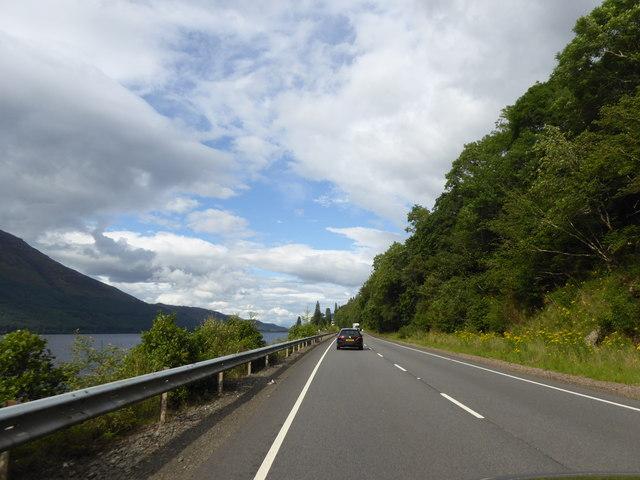 A82 by Loch Lochy